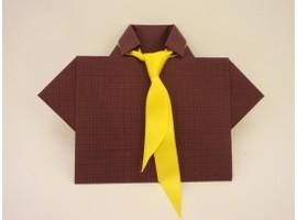Открытка для мужчины своими руками галстук