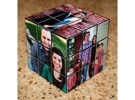 Кубик Рубика с семейными фотографиями