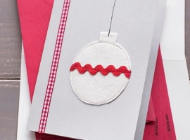 Объемная открытка с ёлочкой