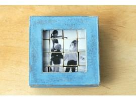 Фотопазл из деревянных кубиков