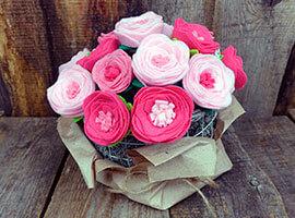 cea6773e-ded1-4fc1-b817-0d4e30b10396 Цветок из фетра: мастер класс пошагово
