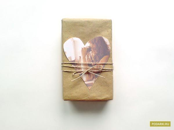 Украшение-сердечко купаковке