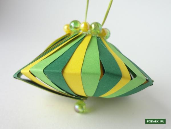 Игрушка наёлку «Юла-фонарик»
