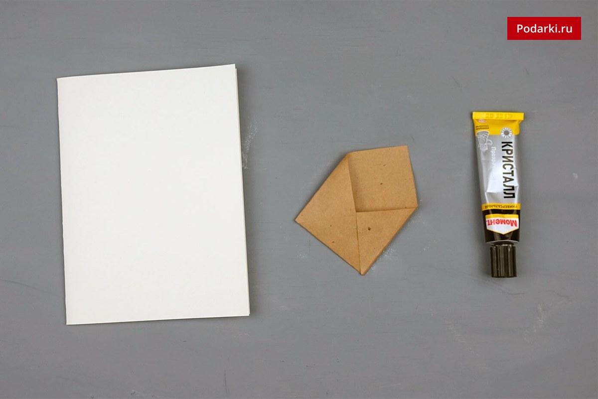 Поздравительные, как клеить открытки