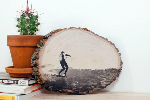 Перенос фото на дерево своими руками