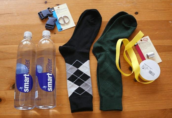 Носки в подарок оформление 13