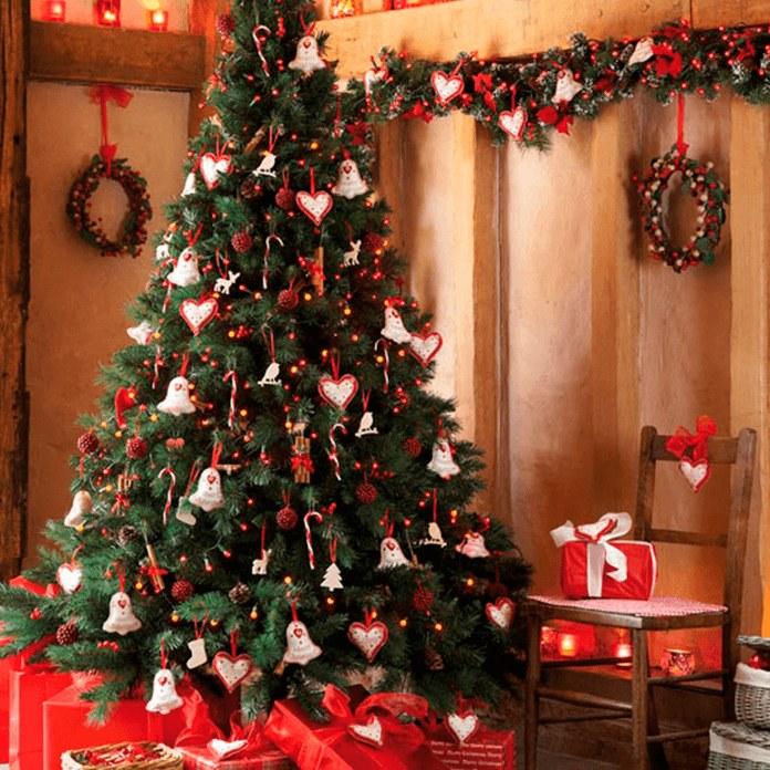 Как украсить елку к новому 2017 году