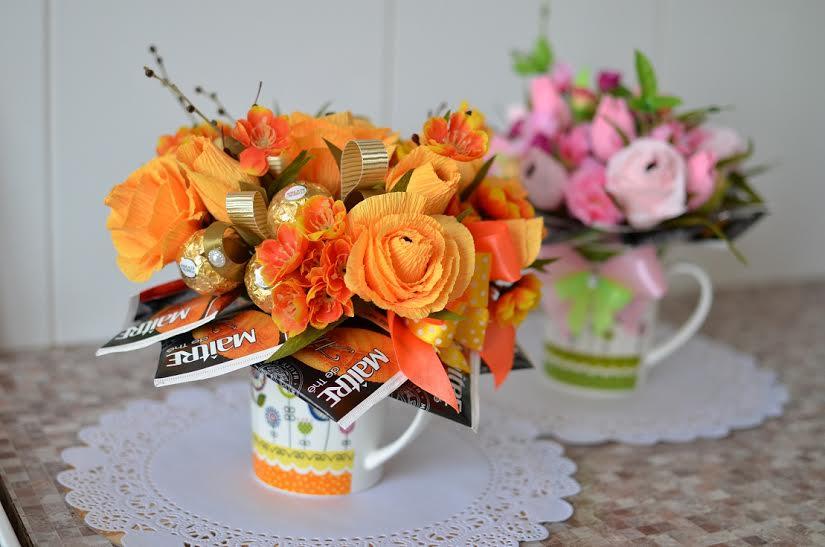 Подарок воспитателям на 8 марта своими руками доставка цветов онлайн тюмень