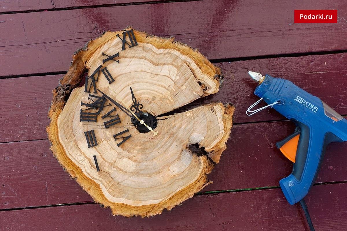 Спил из дерева своими руками 16