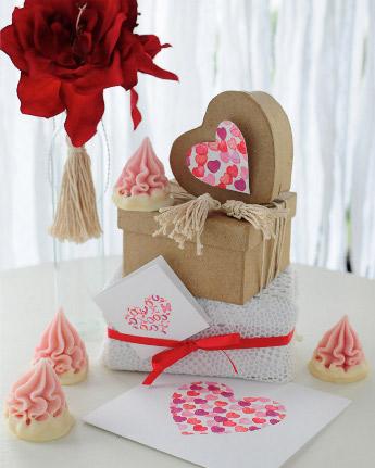 Подарочная коробка-валентинка