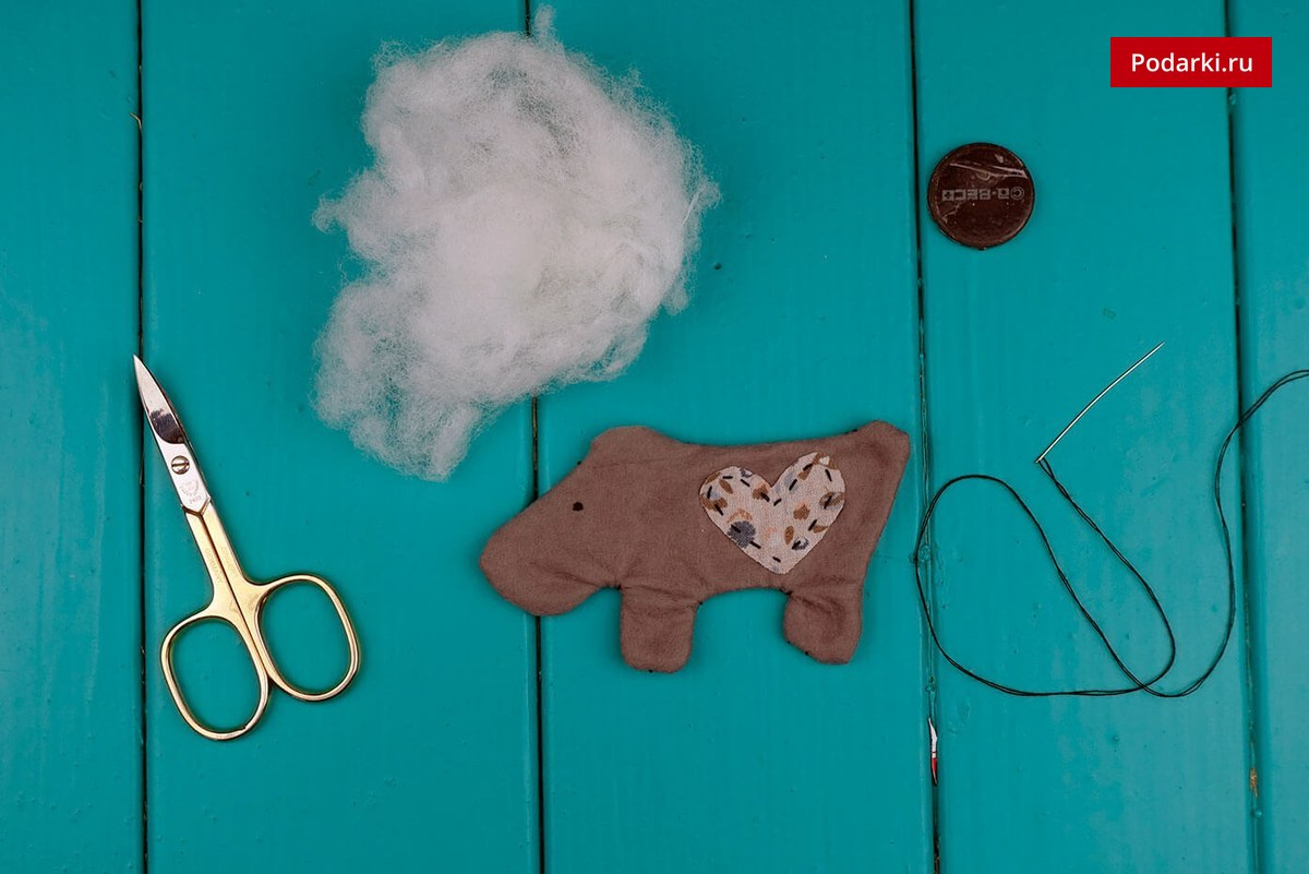 Магнит на холодильник «Собака»