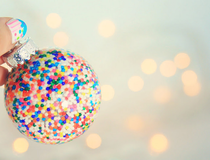 «Сладкий» новогодний шар