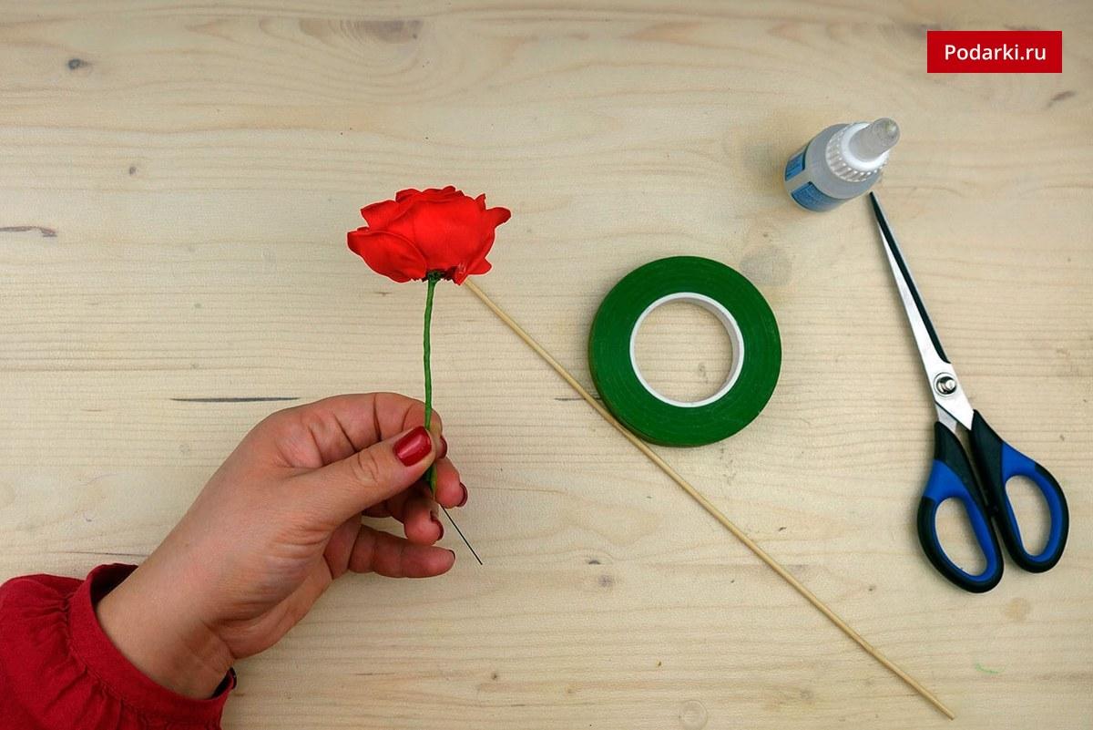 Как сделать розу из фоамирана своими руками? Мастер-класс
