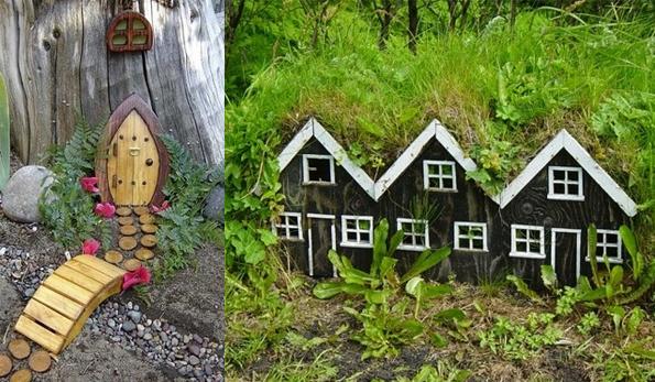 Поделки маленькие домики