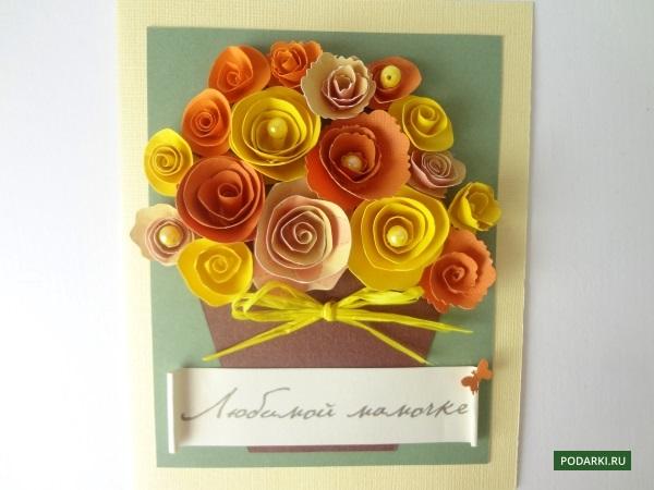 Самодельные открытки на день рождения бабушке своими руками 26