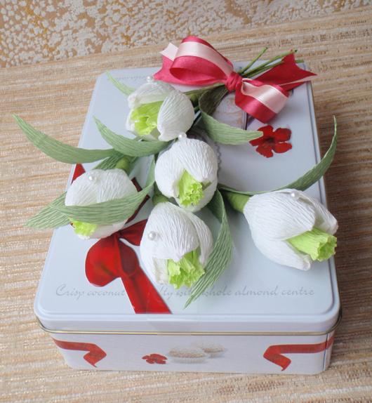 Цветы в коробке своими руками, 3 идеи 31