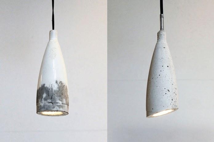 Светильник встиле «модерн» изпластиковых бутылок