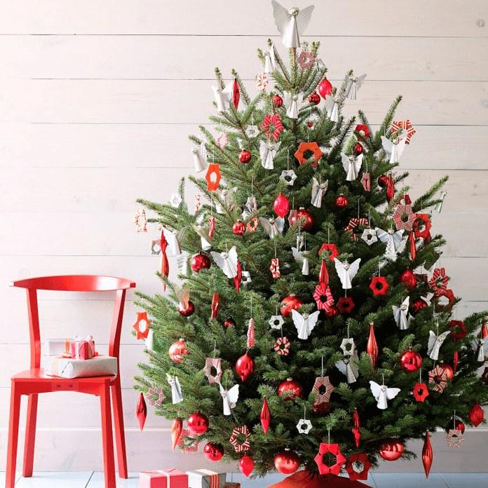 Какнарядить новогоднюю ёлку красиво