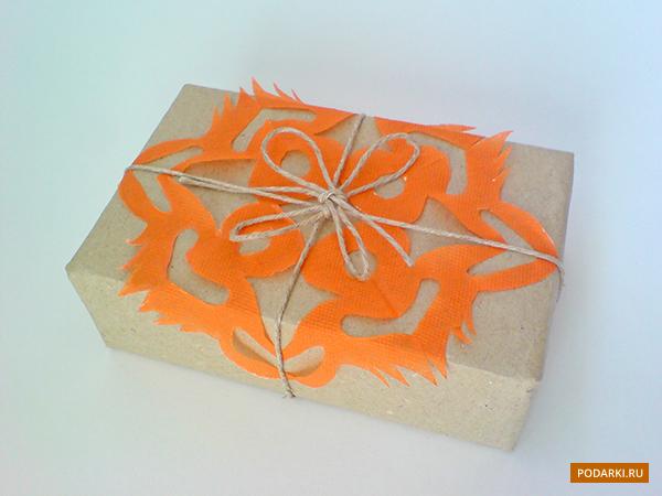 Снежинка дляоформления подарка