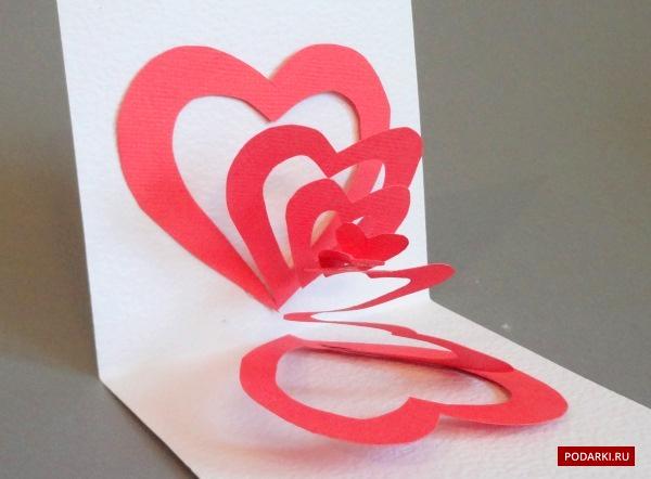 Делаем валентинки из бумаги своими руками 66