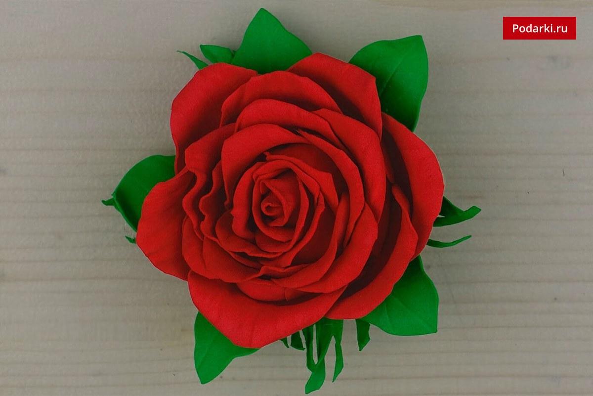 Как сделать розу из фото 694