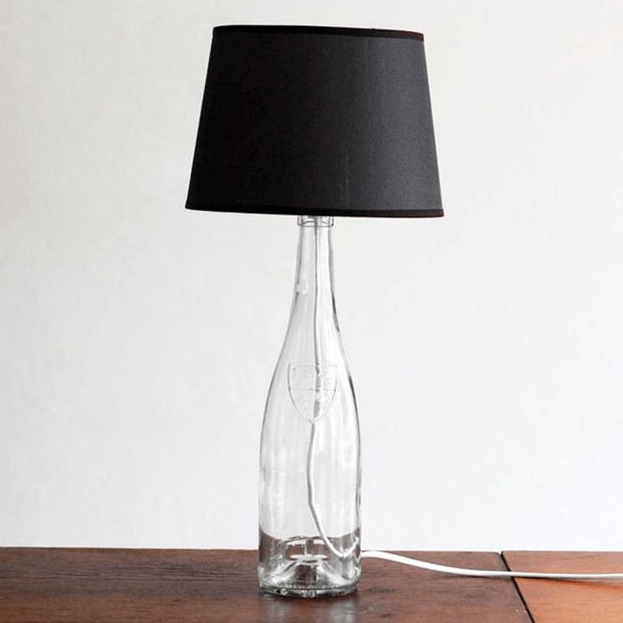 Настольная лампа избутылки