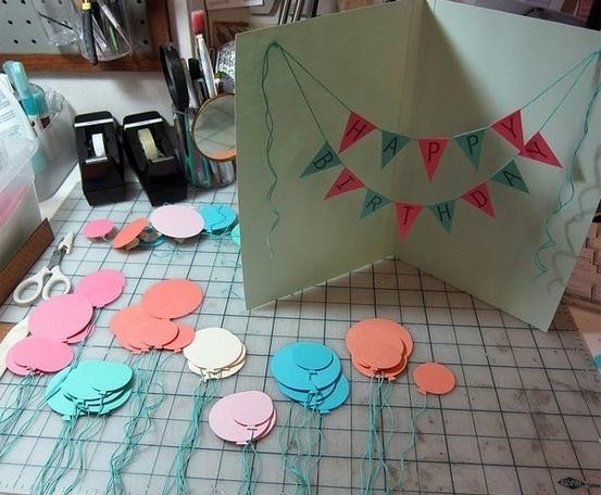 Как сделать открытку с днём рождения своими руками бабушке
