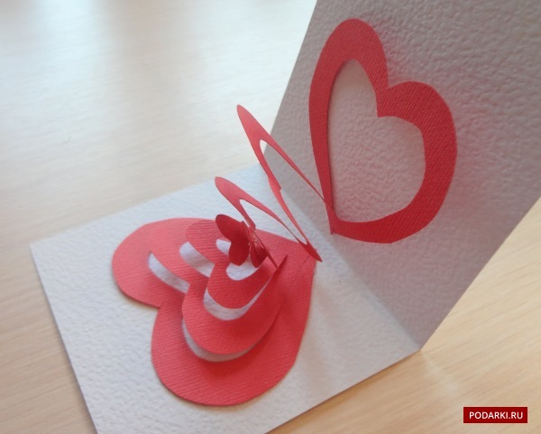Как сделать открытки своими руками к 14 февраля