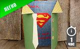 Открытка для папы «Супермен»