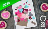 Открытка «Письмо любви»