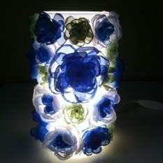 Светильник Синие цветы