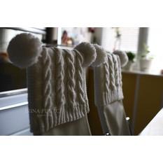 Чехол для стульев своими руками вязаные