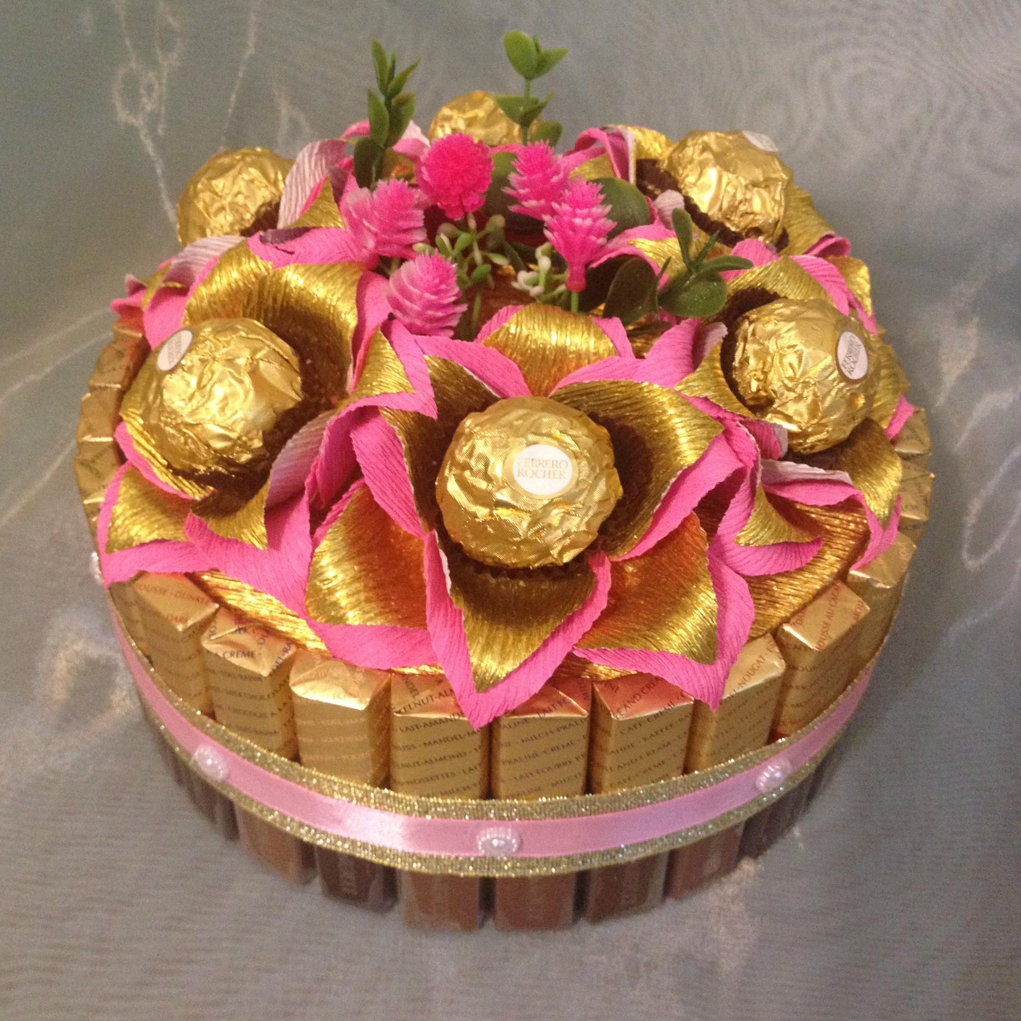 Как сделать оригинальный торт из конфет и сока? Как сделать торт из 39