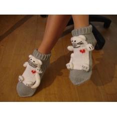 Носки Влюбленные коты