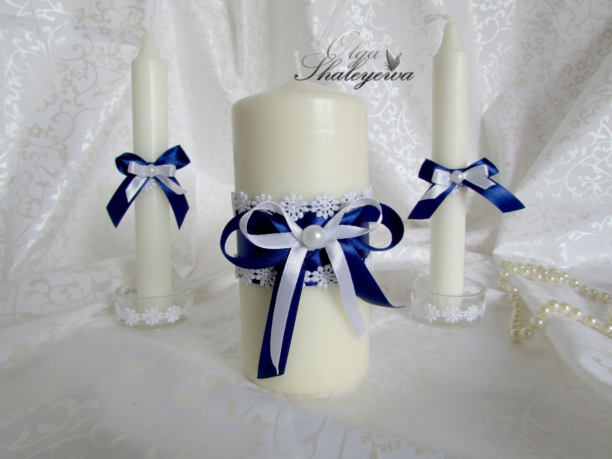 Свадебная свеча своими руками украсить