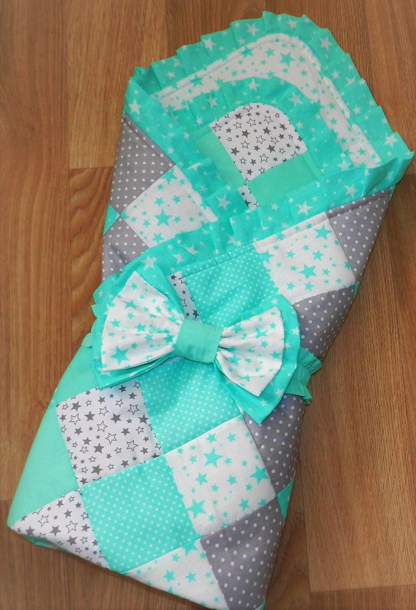 Одеяло для девочки на выписку своими руками