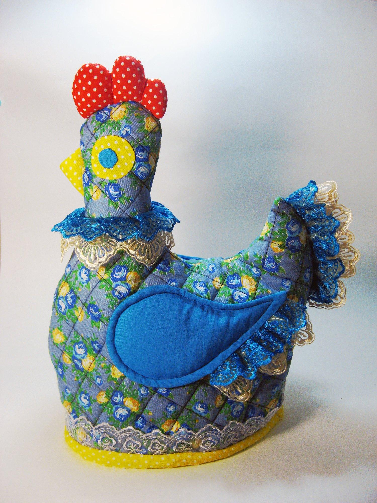 Курица на чайник своими руками