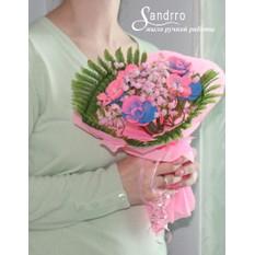 Букет цветов из мыла арт.В002