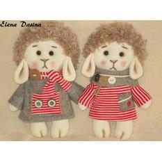Кукла тильда своими руками овечка 54