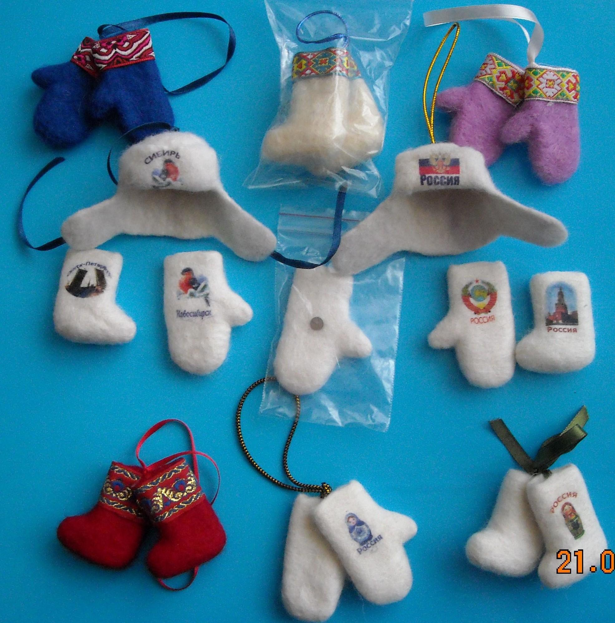 Сувениры из шерсти своими руками