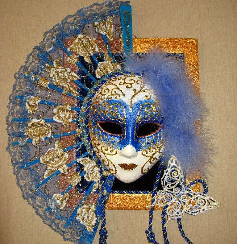 23Венецианская маска своими руками фото