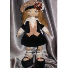Кукла леди своими руками 37