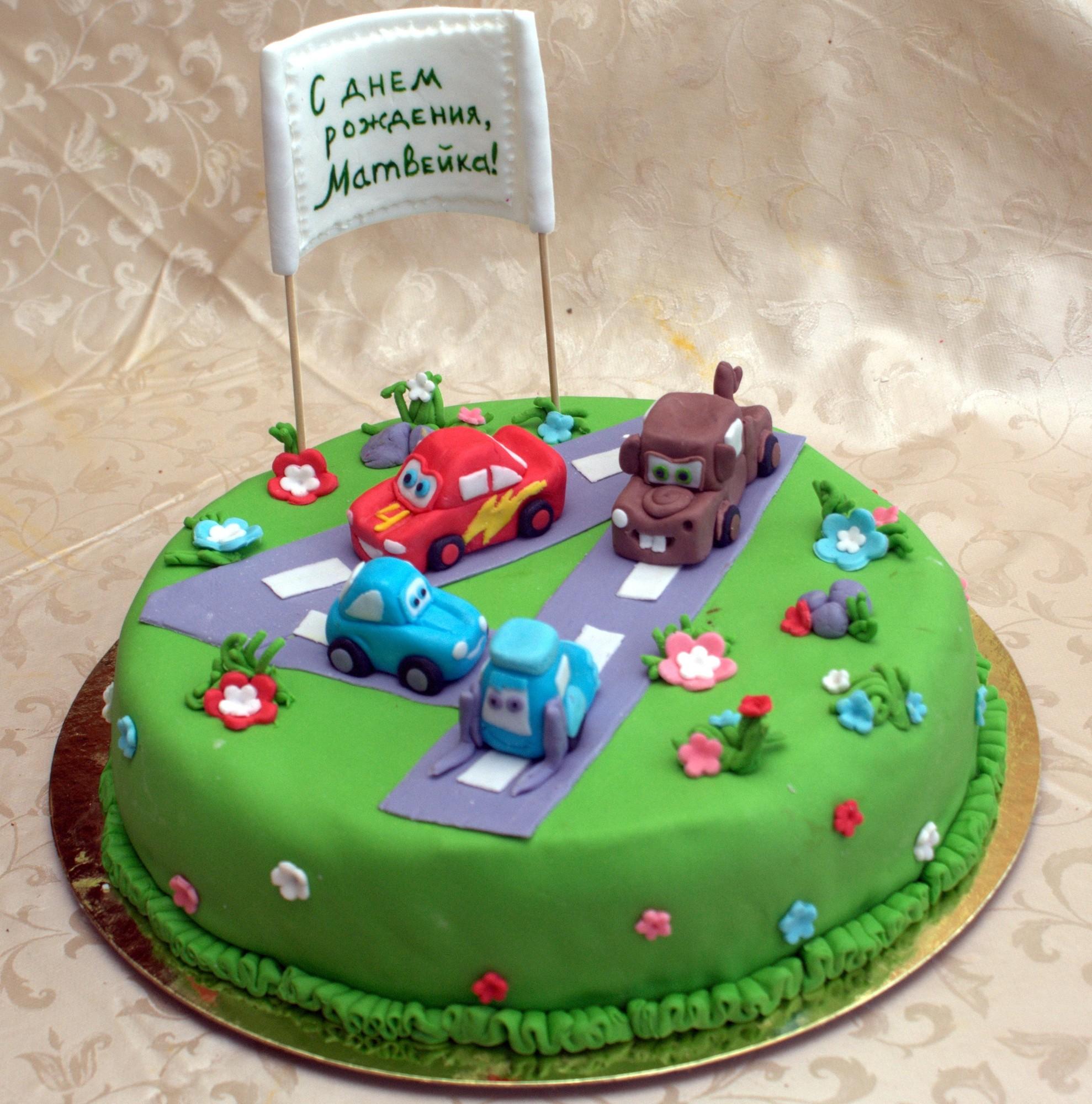 Детские торты для мальчиков фото своими руками