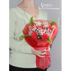 Букет цветов из мыла арт.В005