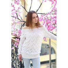 Женский пуловер авторской работы Driftwood