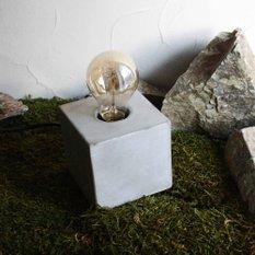 Светильник с диммером Simple cube
