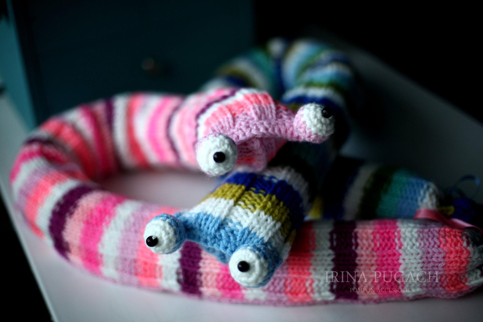 Мягкая игрушка червяк своими руками