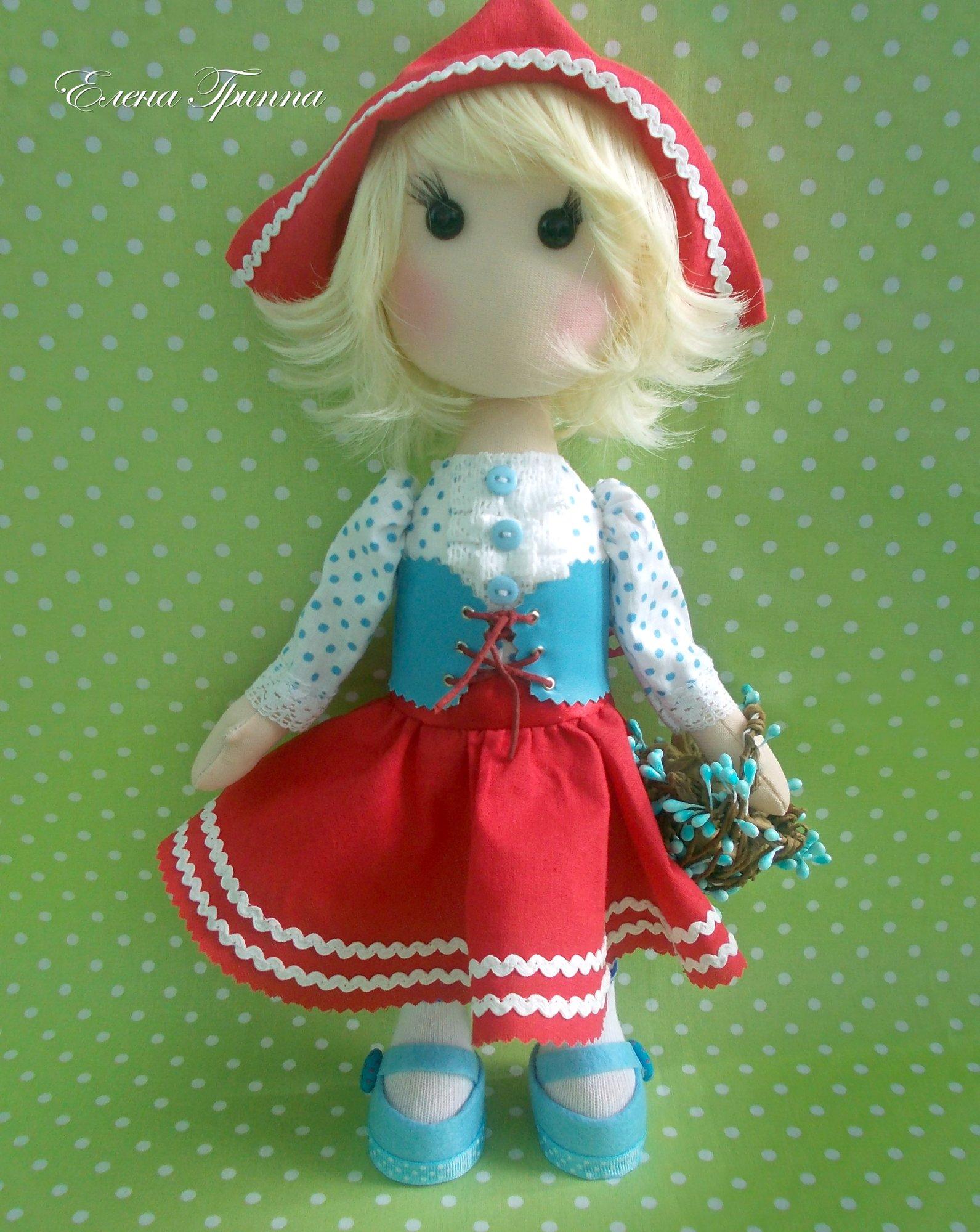 Кукольные шапочки своими руками