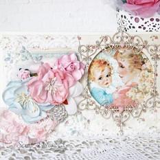 Открытка новорожденному малышу
