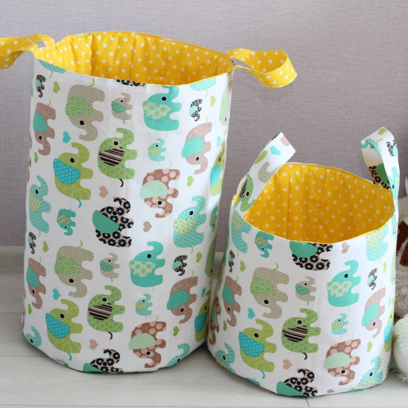Каркас для корзины для игрушек своими руками
